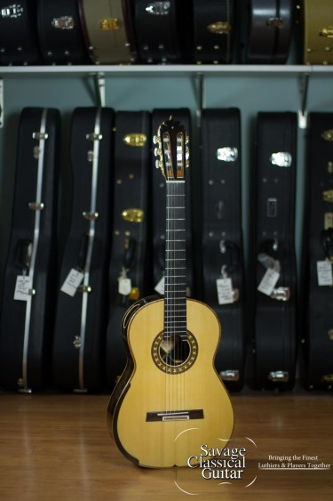 Luciano Maggi Classical Guitar 2016 Lattice Spruce CSA