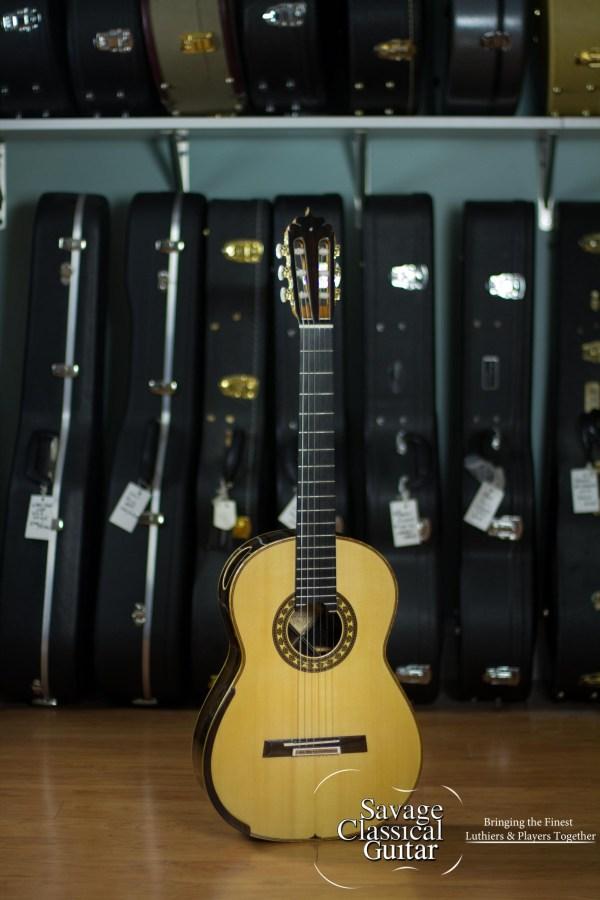 Luciano Maggi Classical Guitar 2016 Lattice Spruce CSA