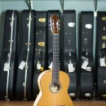 2016 Jason Wolverton Classical Guitar - Western Red Cedar Maple