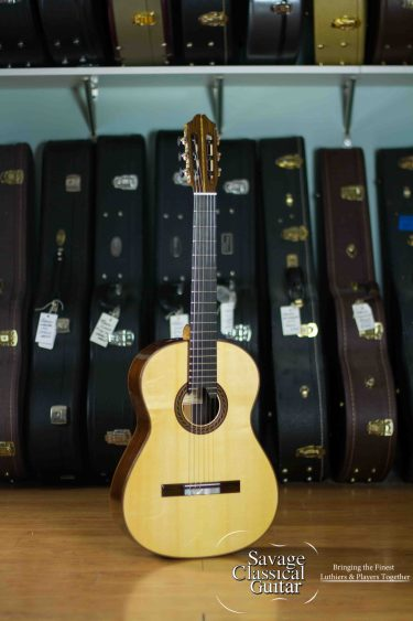 Kenny Hill Signature Classical Guitar #4022 - Spruce 640