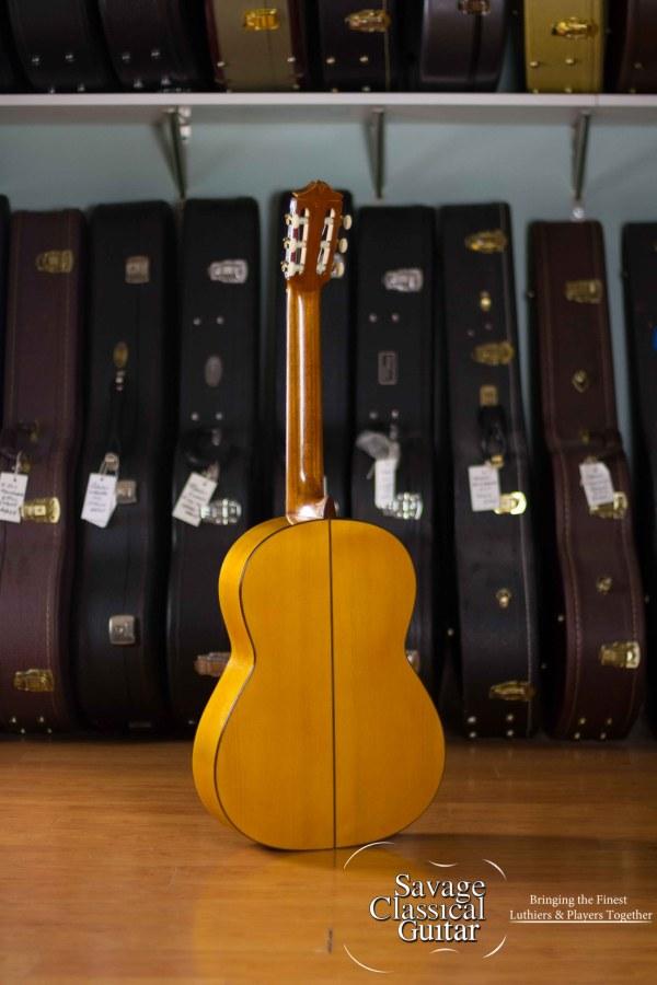 1961 Arcangel Fernandez Blanca Flamenco Guitar #157 Spruce Cypress