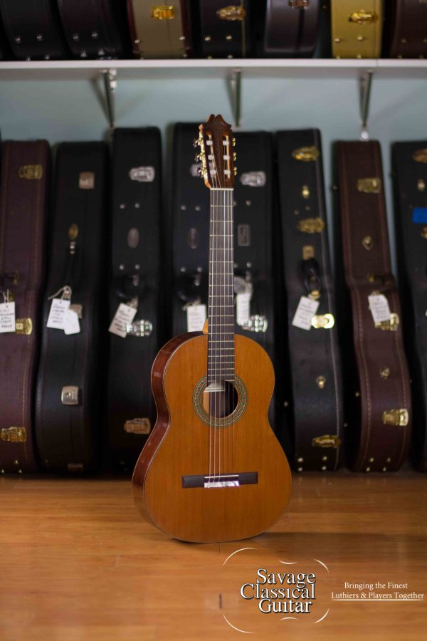 Wilson Burnham Classical Guitar 2016 Redwood EIRW