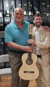 Me with Eugenio Ligato