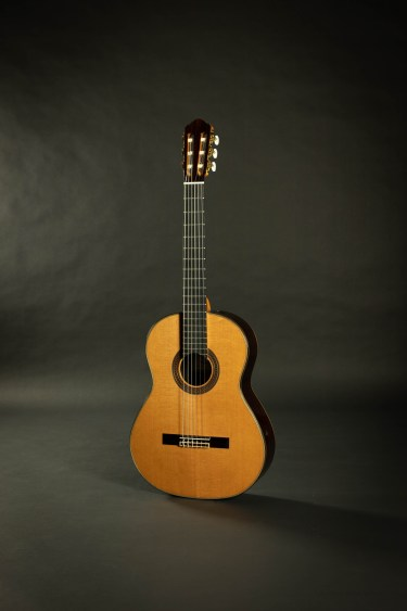 Kenny Hill Player Classical Guitar - 640mm Cedar Elevated FB PORTS