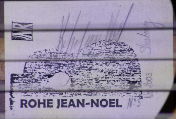 2003 Jean Noel Rohe #003 Spruce EIRW