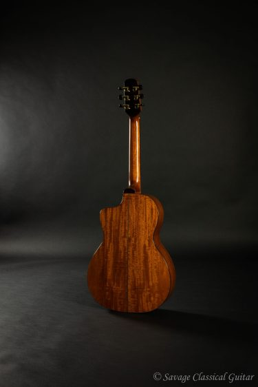 2009 Roy McAlister #219 00 Vintage Cutaway Spruce Mahogany