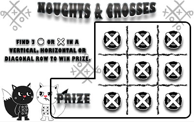 Noughts-and-Crosses-Scratch-Card • Savage Hearts ESO