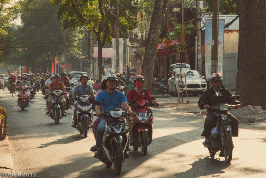 saigon motorbike street