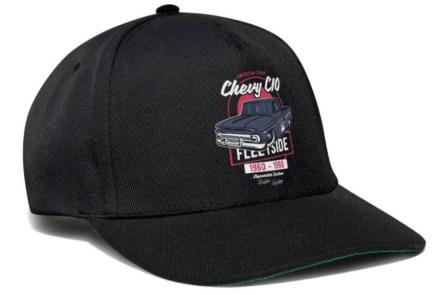 Chevy C10 Basecap Black