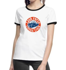 Task Force Frauen Kontrast-T-Shirt