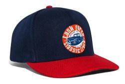 Task Force Snapback Cap Navy Red