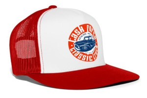 Task Force Trucker Cap Red White