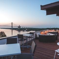 Restaurant Table And Chairs Low Seated Concert 5 Rooftop Restaurants You Must Visit In Savannah - Savannah, Ga   Savannah.com