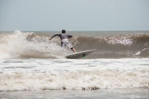 surfing Tybee