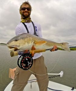 fly fishing for reds in South Carolina and Georgia