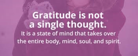 Gratitude in addiction recovery
