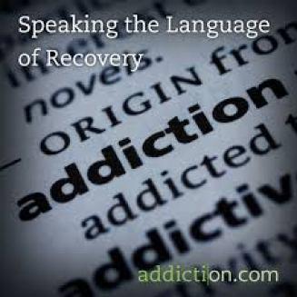 language of addiction