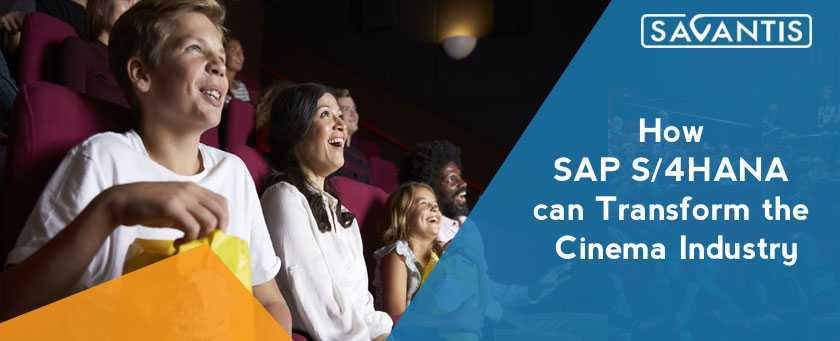 SAP S/4HANA for Cinemas