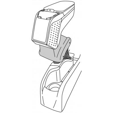 Apoyabrazos específico AR9 para Renault Fluence (2009