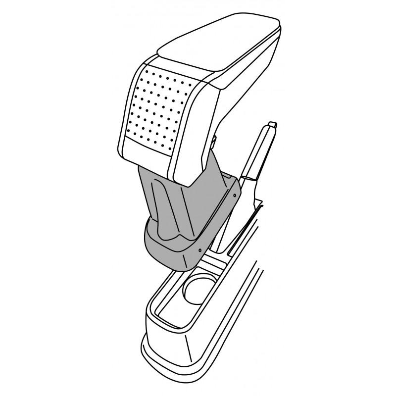 Apoyabrazos específico AR10 para Fiat Linea, Punto, Grande