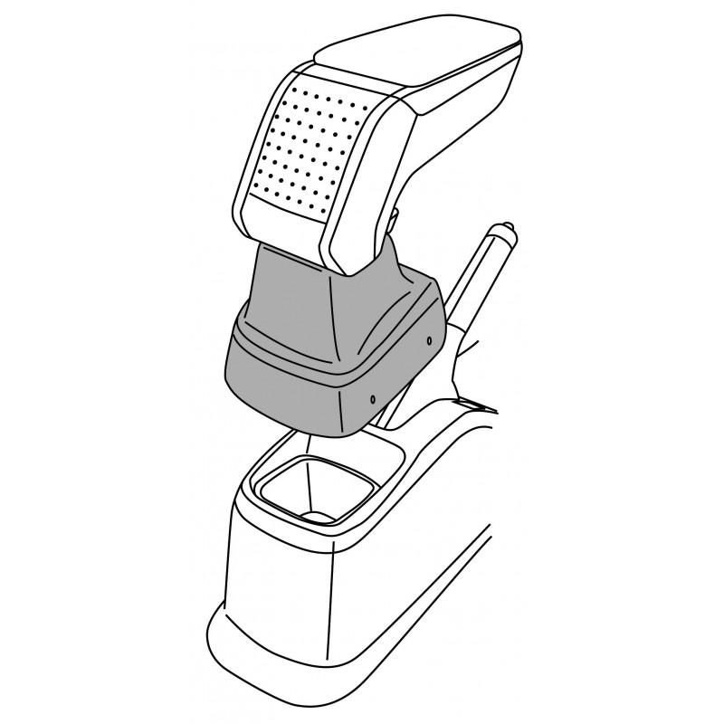 Apoyabrazos específico AR10 para Fiat Sedici, Suzuki SX4