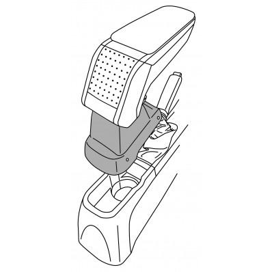 Apoyabrazos específico AR10 para Opel Corsa D (2006-2014)