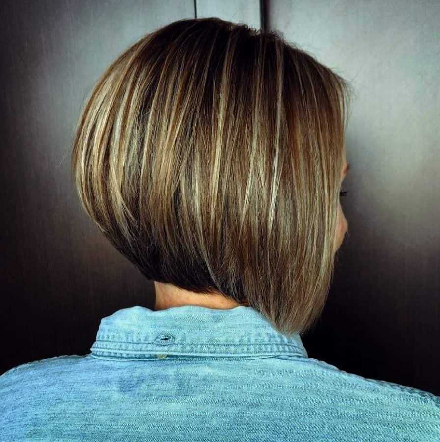Stufenschnitt kurze haare hinten