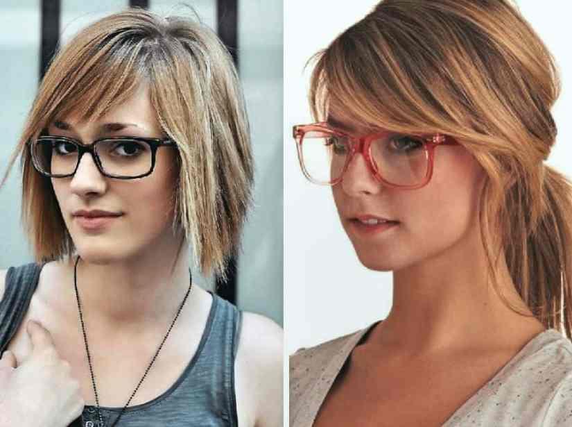Inspirationen Damen Frisuren mit Brille Ideen