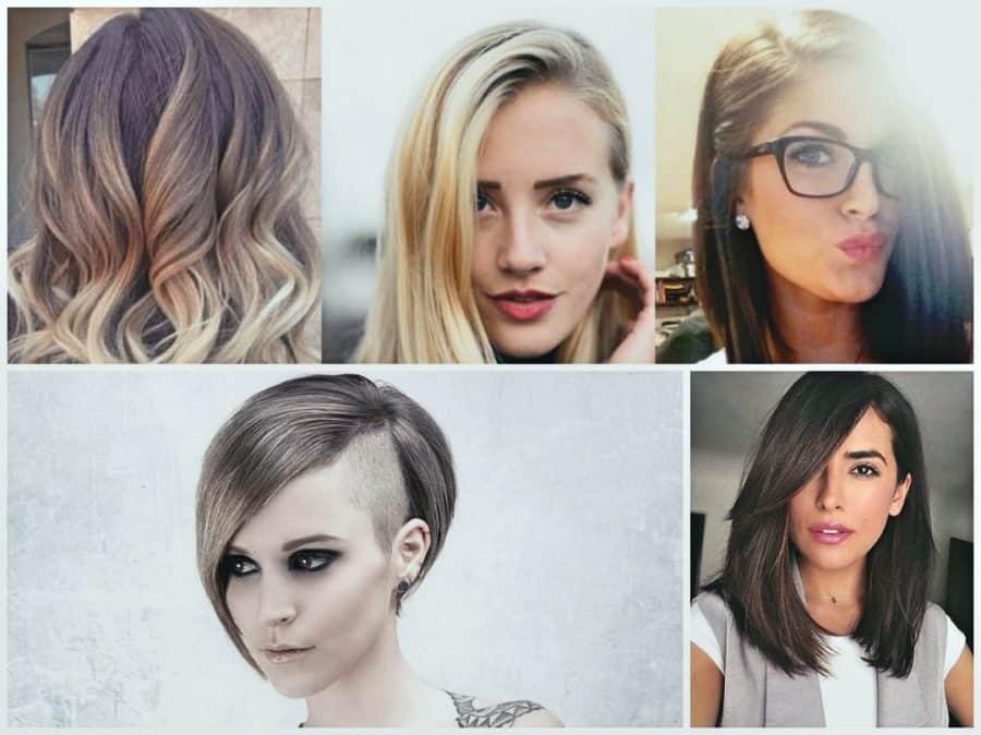 Neuer Damen Frisuren mit kurz, bob, lang, schulterlang, halblang, ab 50, pony, kinnlang, undercut, stufig, locken, ab 40, feines und Haarschnitte