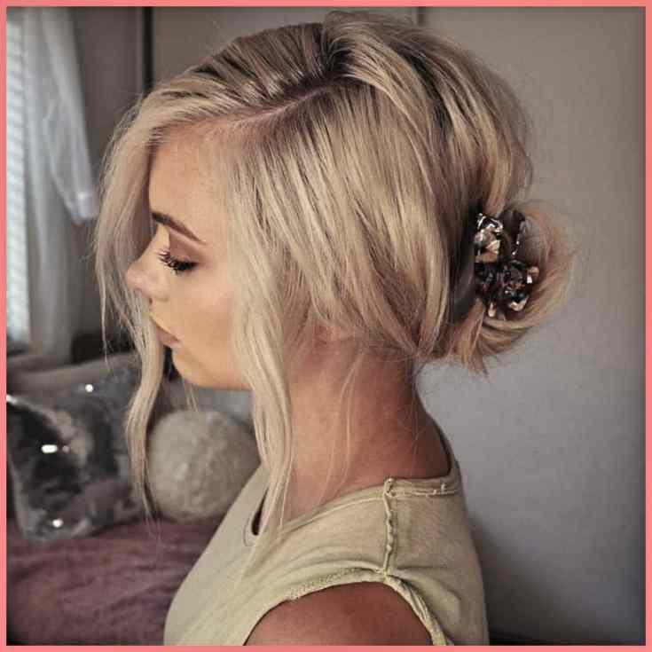 Nicht der Haarclip Ihrer Großmutter Frisuren Mittellang