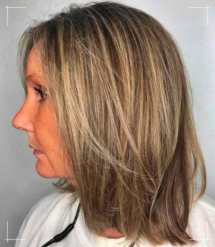 10 Frisuren Mittellang frau ab 40 für feines Haar