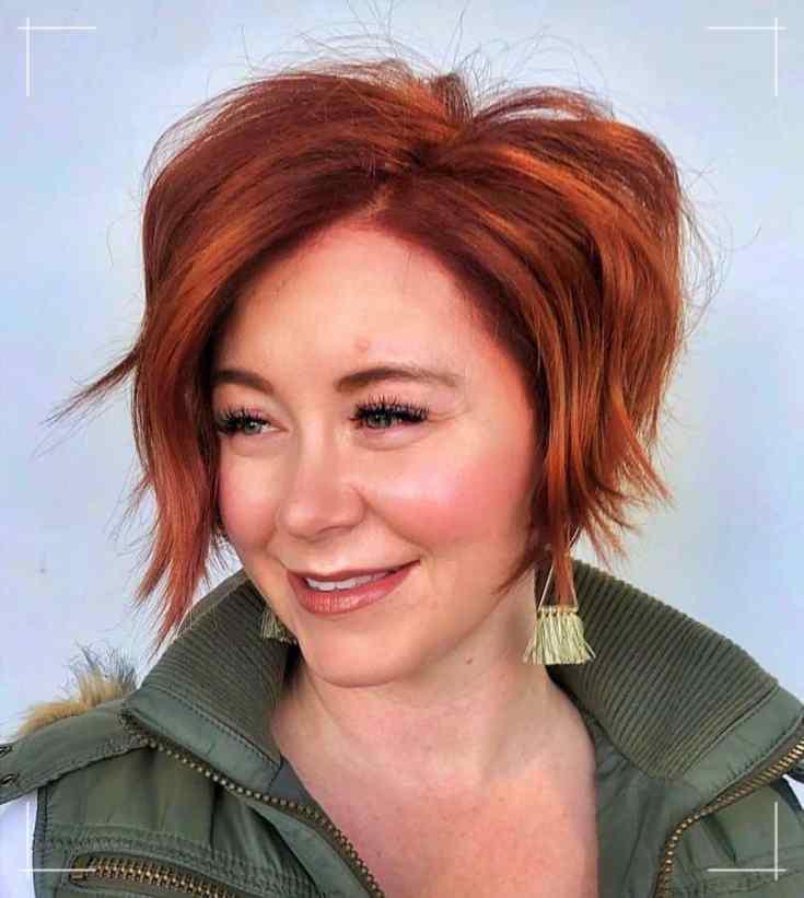 14 Frisuren Kinnlang Feines Haar Texturierter Rasiermesserschnitt