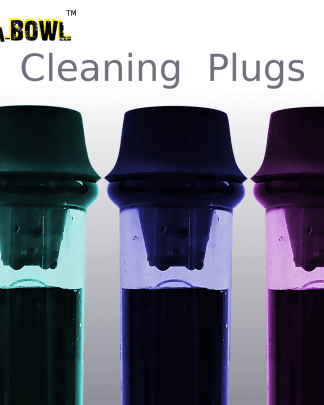 image of Cleaning plugs for bongs and rigs
