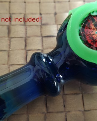 main cabochon save a bowl on a glass smoking pipe