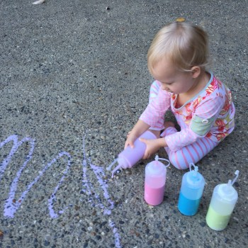 Create Your Own Chalk Paint Activity