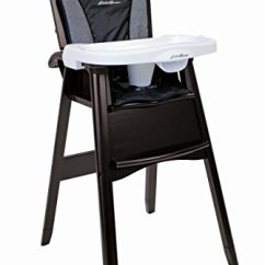 Eddie Bauer Wood High Chair Covers Yellow Classic — Deals From Savealoonie!