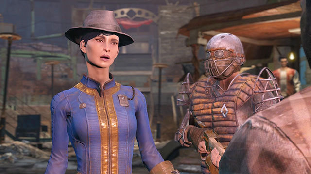 You know Fallout is fictional because fedoras don't carry a charisma penalty.