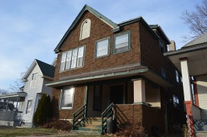 This home at 1508 Washington Ave. SE, a contributing structure to a potential historic district in Cedar Rapids, is one of the buildings targeted for demolition. (photo/Cindy Hadish)