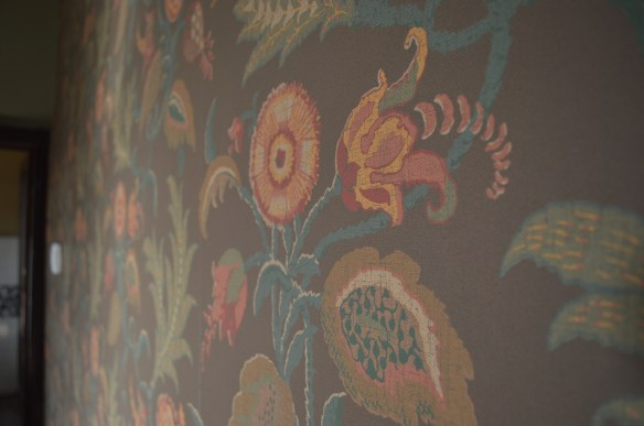 Paint and wallpaper - this in an upstairs room - give each room a unique spirit, (photo/Cindy Hadish)