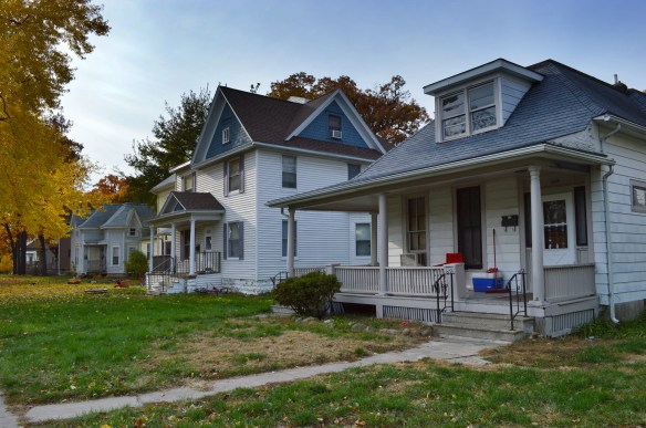 Homes in the new B Avenue Historic District represent a variety of styles, including more elaborate late Victorian and Italianate to bungalow and craftsman styles. (photo/Cindy Hadish)