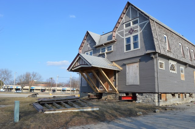 Historic Brewer House relocated