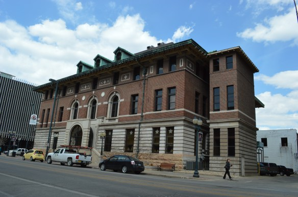 White Star Ale House opened in the historic Witwer Building in downtown Cedar Rapids, and is among the buildings included in a proposed Downtown National Historic District. (photo/Cindy Hadish)