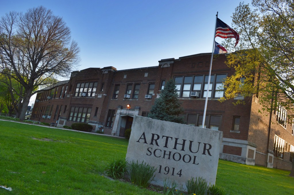 Garfield and Arthur schools celebrate 100th anniversaries