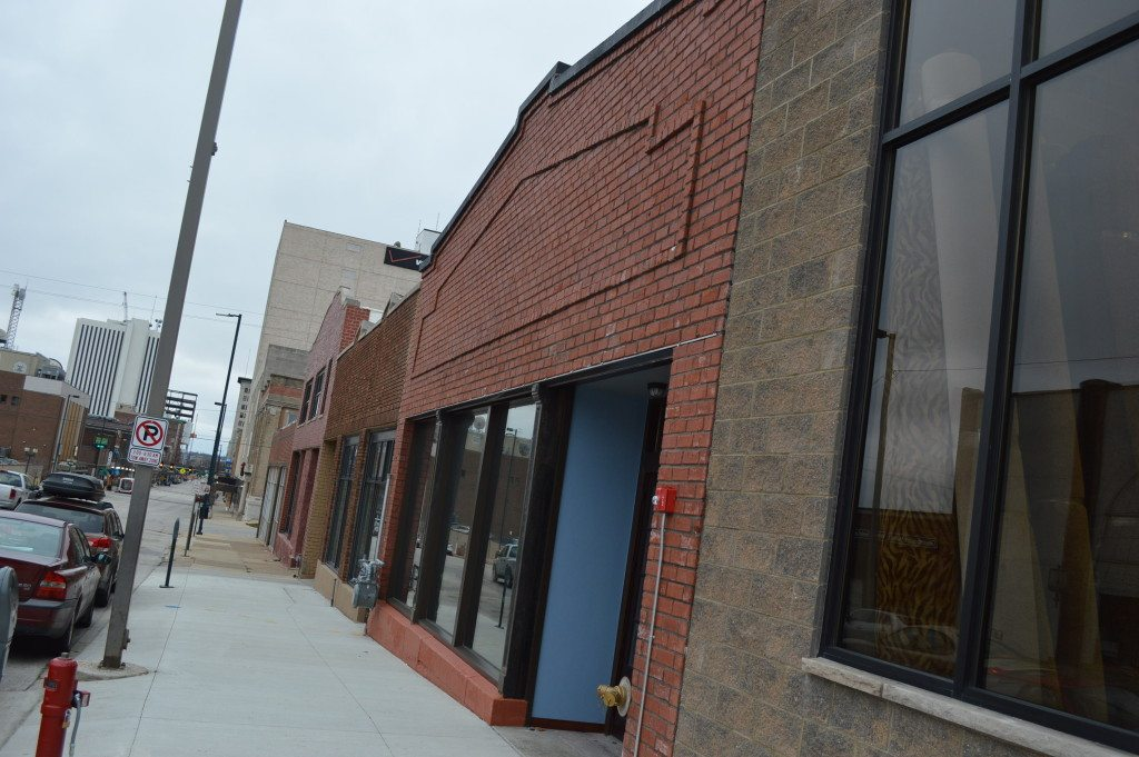 The Quarter Barrel is among buildings in the new Cedar Rapids Automobile Row Historic District. (photo/Cindy Hadish)