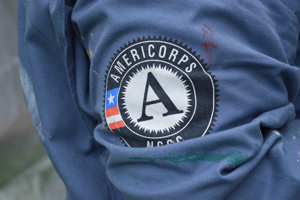 AmeriCorps helps Frankie House restoration move forward