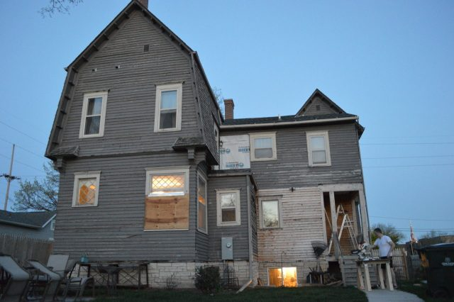 Historic Brewer House remains a work in progress