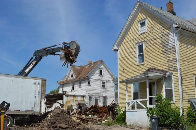 Historic buildings targeted as string of demolitions blight First Avenue in Cedar Rapids