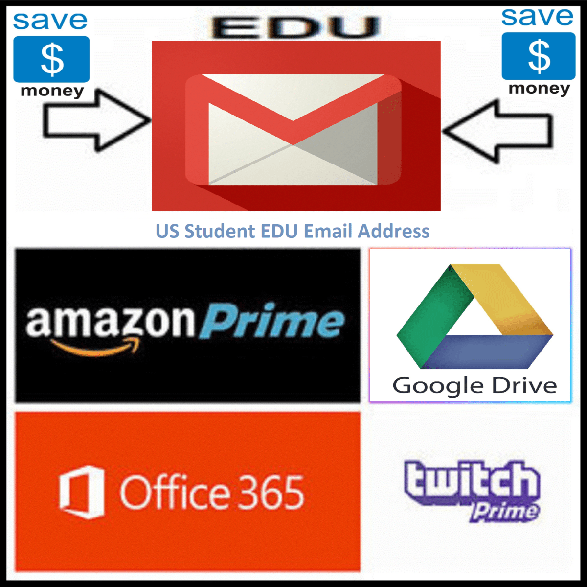 US Student .EDU Email Address