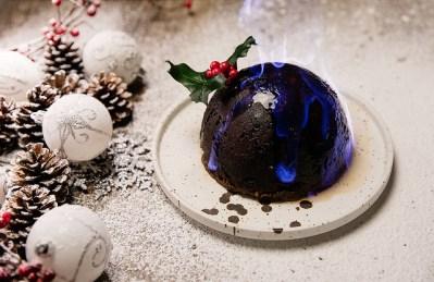 le christmas pudding save eat