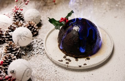 le christmas pudding save eat